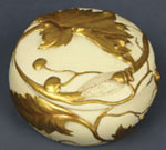 Art Nouveau Insect Motif Trinket Box