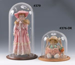 Doll, Ornament & Figurine Glass Display Domes