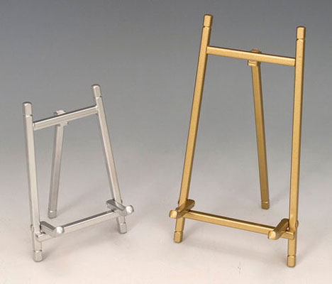 Plate Stands Satin Brass \u0026 Silver Finish Easel stands & Plate Bowl \u0026 Platter Holder Stands and Bowl Stands Platter Stands ...
