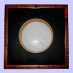 BIRD'S EYE MAPLE PLATE FRAME