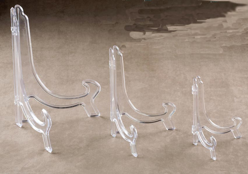 Clear Acrylic Hinged Plate Stands & Plate Bowl \u0026 Platter Holder Stands and Bowl Stands Platter Stands ...