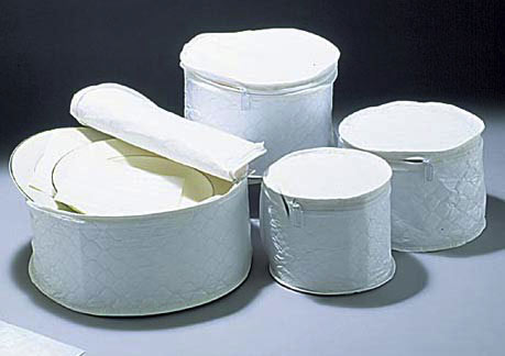 Plate Storage Cases : dinnerware storage containers - pezcame.com