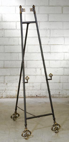 Large Metal Floor Easel & Plate Bowl u0026 Platter Holder Stands and Bowl Stands Platter Stands ...