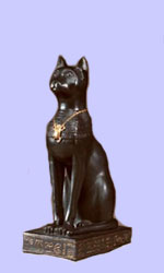 Bastet Statue- Egyptian God & Goddess Figurine