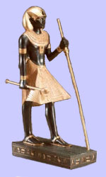 Egyptian Guardian Figurine