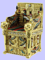 King's Throne Pewter Jeweled Box