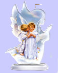 An Angel's Kiss Figurine - Sandra Kuck - Heavenly Messengers