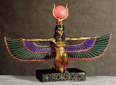 Isis Figurine - Egyptian Home Decor and Furniture