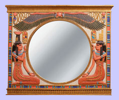 Egyptian Wall Mirror - Ancient Egyptian Furniture