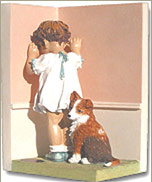 In Disgrace Figurine  - Bessie Pease Gutmann figurines