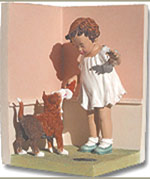 The Reward  Figurine - Bessie Pease Gutmann