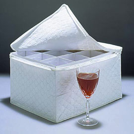 Wine Glass Storage Case
