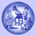 Dance Lessons - Bing & Grondahl Children's Day  Plate - Sven Vestergaard