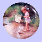 Adventures of Childhood - Donald Zolan Plate