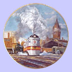 American Steam Engines Plate - Ted  Xaras