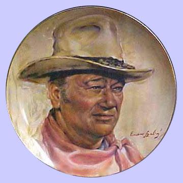 High Country John Wayne Plate