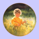 A Time For Peace - Donald Zolan  Plate - March of Dimes - Donald Zolan