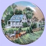 Currier & Ives Four Seasons Plates