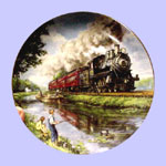 The Golden Age of Railroad Plate - Ted Xaras