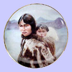 Mother's Love - Gregory Perillo Plate