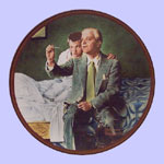 The Ones We Love - Norman Rockwell