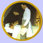 Freedom From Fear  -  Norman Rockwell Plate