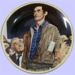 The Four Freedoms - Norman Rockwell Plate