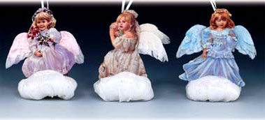 Heaven Sent Angel Ornament by Sandra Kuck