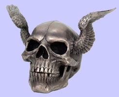 Skull with Angel Wings