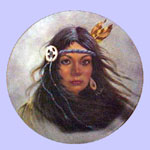 Pocahontas - Indian  Princess Series - Gregory Perillo Plate