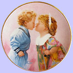 Donald Zolan Valentine's Day Mini Plate - Tender Hearts