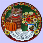 Uncle Tad's Holiday Cats - Thaddeus Krumeich