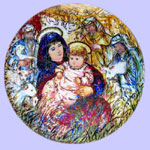 Hibel Christmas Plates
