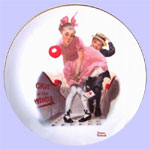 Young Love - Rockwell - Danbury Mint