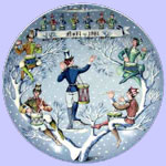 Haviland Limoges - Remy Hetreau - Twelve Days of Christmas