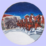 Budweiser Collectible Plate-Gary Ciccarelli-A Century of Tradition