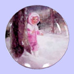 Christmas Miniature Plate - Donald Zolan