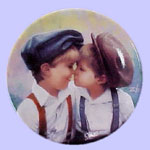 Father's Day Miniature Plate - Donald Zolan