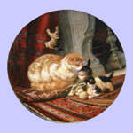 The Victorian Cat -  Henriette Ronner
