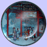 TScenes From The Summer Palace - Zhang Song Mao - Imperial Ching-te Chen