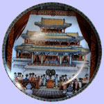SScenes From The Summer Palace - Zhang Song Mao - Imperial Ching-te Chen