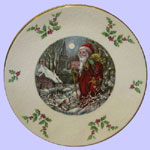 Royal Doulton Annual Christmas Plate - The Night Before Christmas