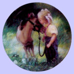Single Issue Miniature Plate - Donald Zolan