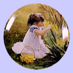 Mother's Day Miniature Plate - Donald Zolan