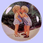 Childhood Discoveries Miniature Plate - Donald Zolan