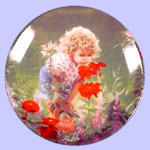 Times To Treasure Miniature Plate - Donald Zolan