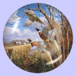October Memories - Pheasants - David A Maass
