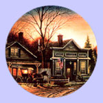 Terry Redlin - Country Doctor