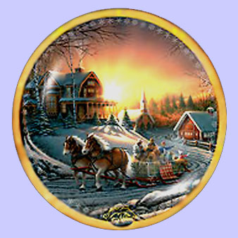 pleasures of winter holiday collection terry redlin