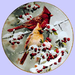 Winter Jewels - Cardinals - Susan Bourdet